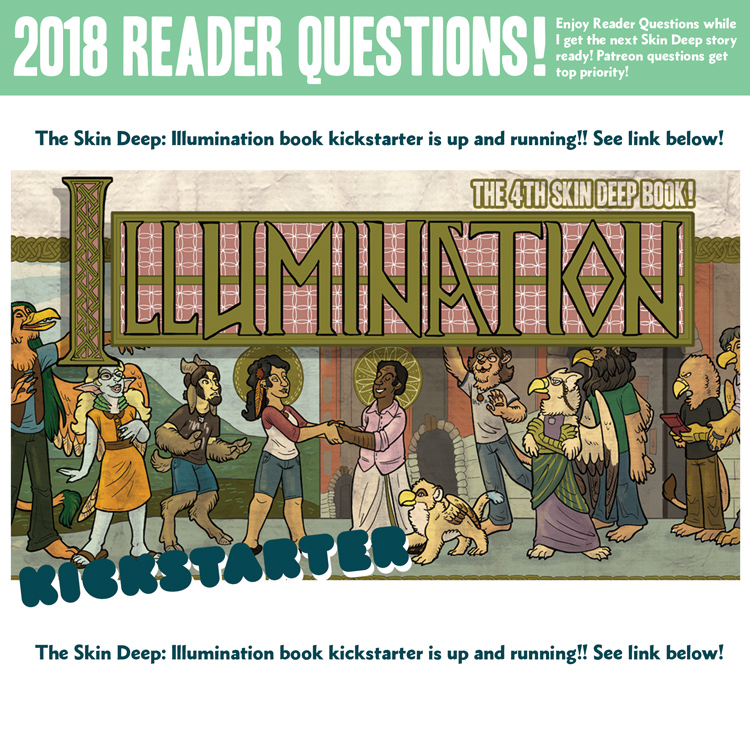 Reader Questions – Page 329 – Skin Deep